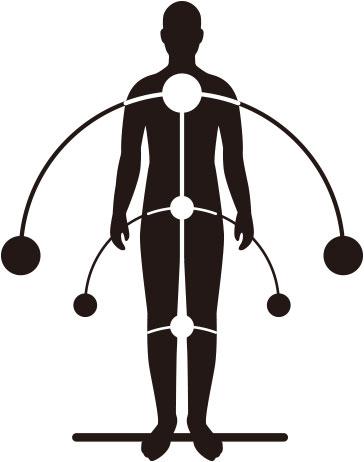 身体のバランス